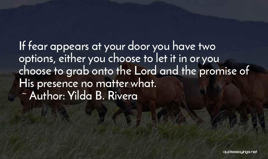 Promise To You Quotes By Yilda B. Rivera