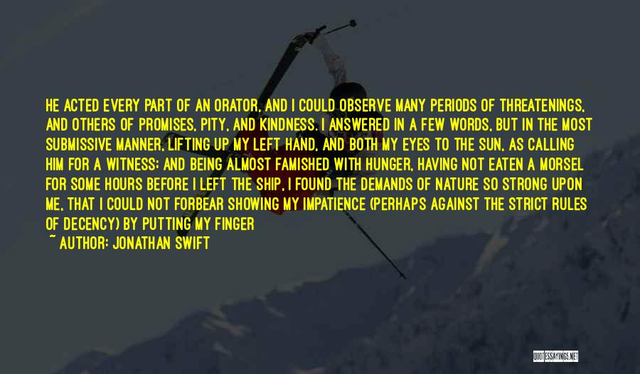 Promises Are Just Words Quotes By Jonathan Swift