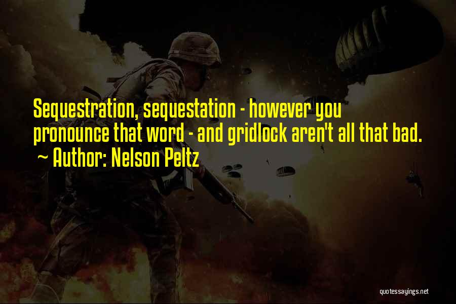 Pronounce Quotes By Nelson Peltz