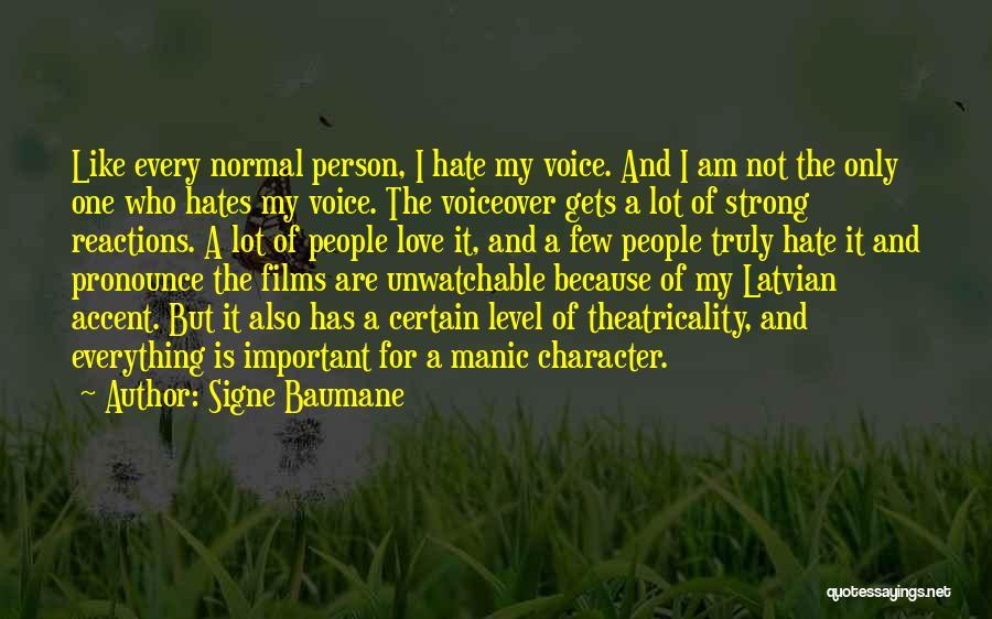 Pronounce Quotes By Signe Baumane