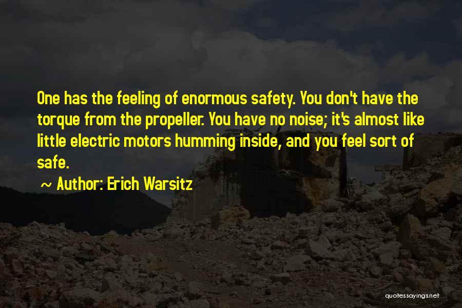 Propeller Quotes By Erich Warsitz