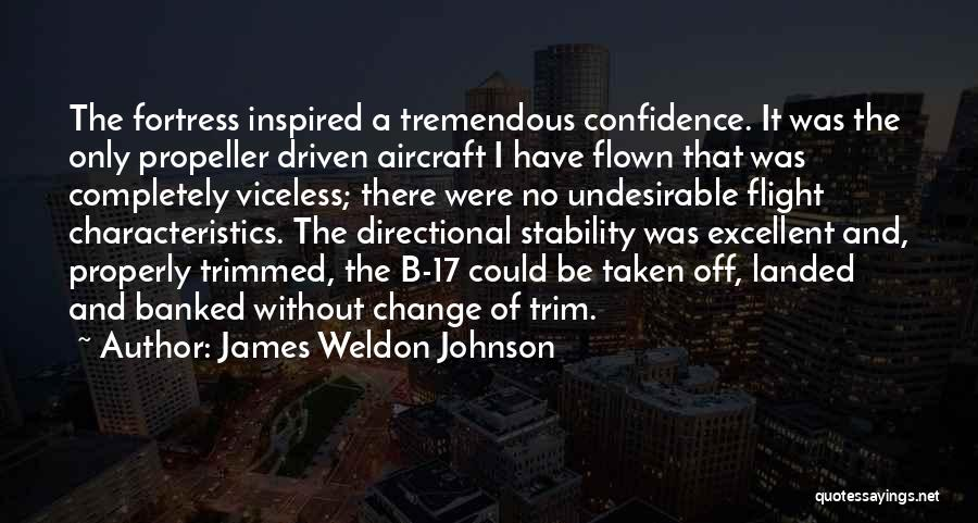 Propeller Quotes By James Weldon Johnson
