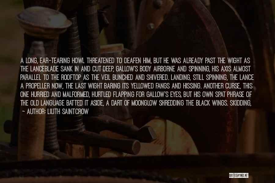Propeller Quotes By Lilith Saintcrow
