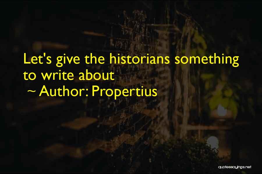 Propertius Quotes 1367295