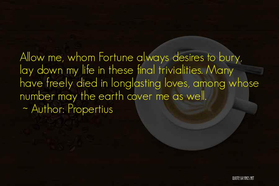 Propertius Quotes 1368527