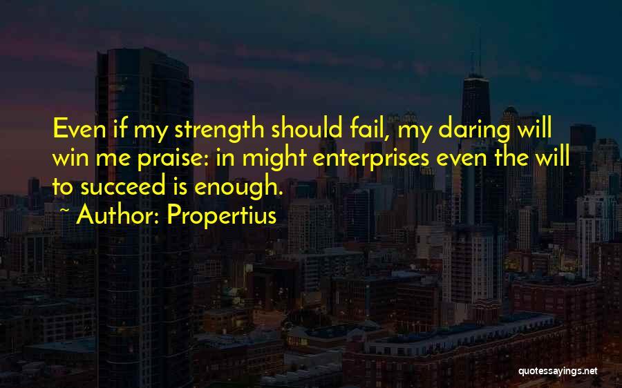 Propertius Quotes 1776519