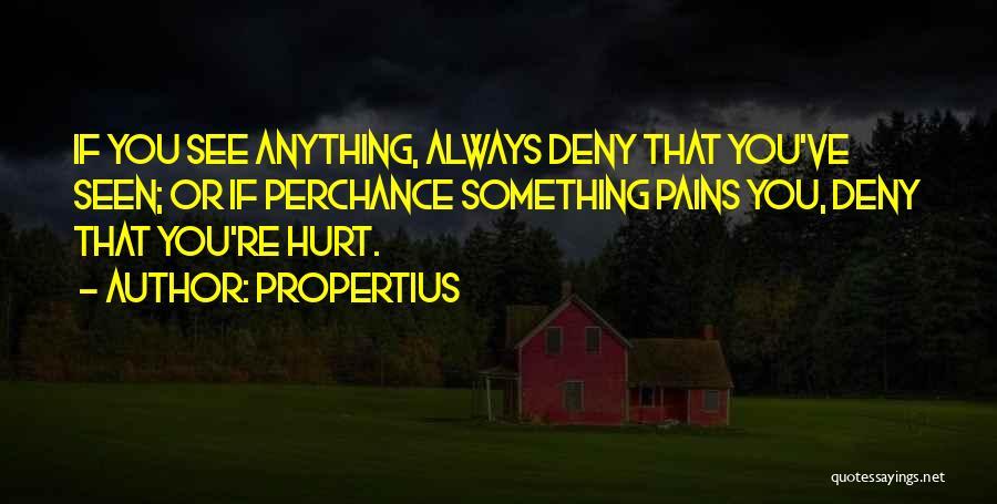 Propertius Quotes 1851941