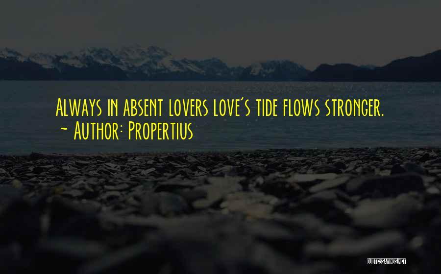 Propertius Quotes 1919129