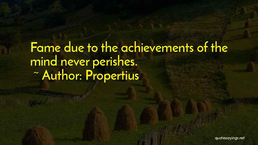 Propertius Quotes 330575