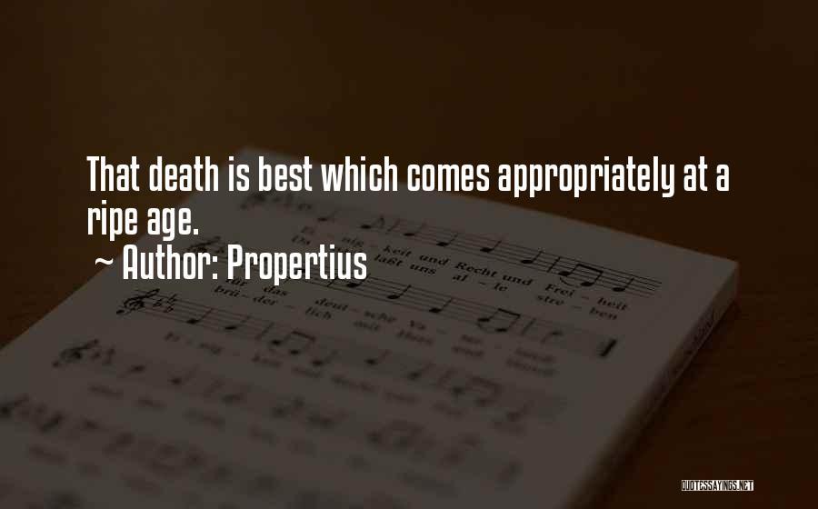 Propertius Quotes 344402