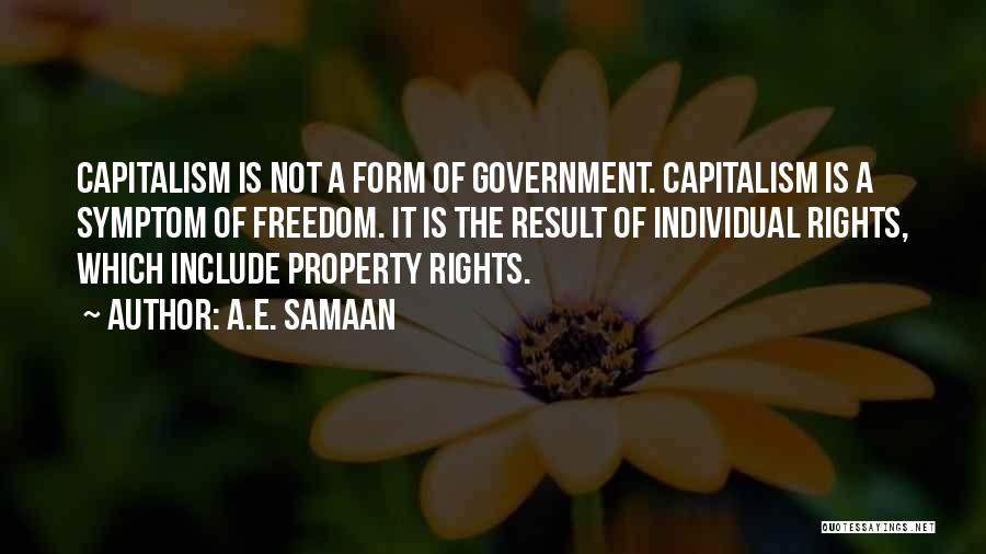 Property Quotes By A.E. Samaan
