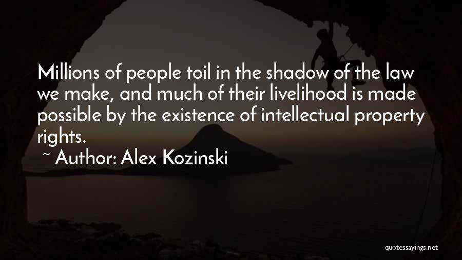 Property Quotes By Alex Kozinski