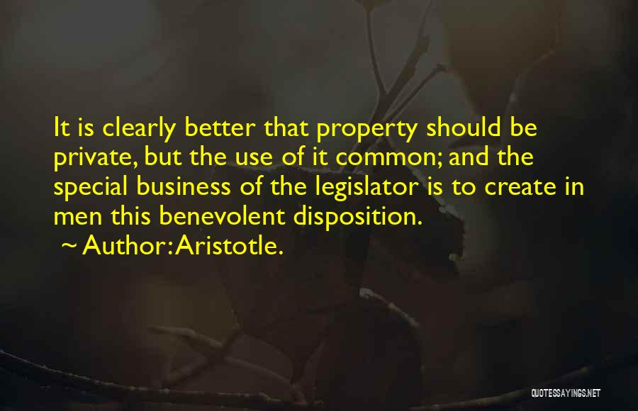 Property Quotes By Aristotle.