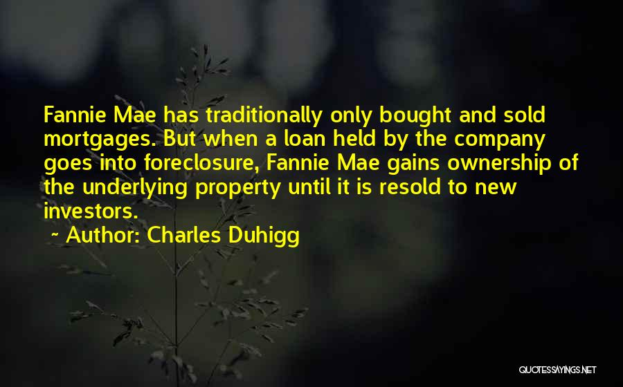 Property Quotes By Charles Duhigg