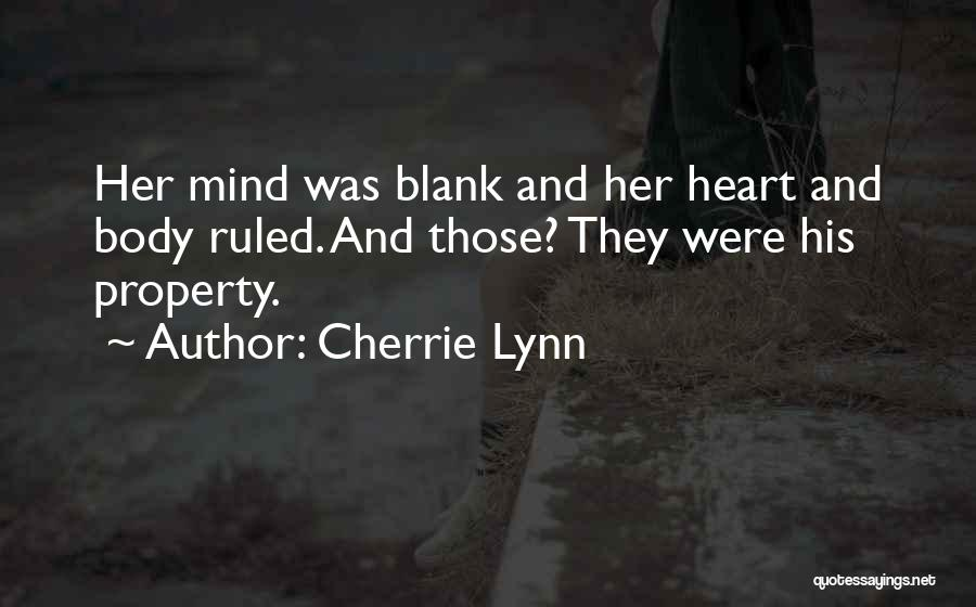 Property Quotes By Cherrie Lynn