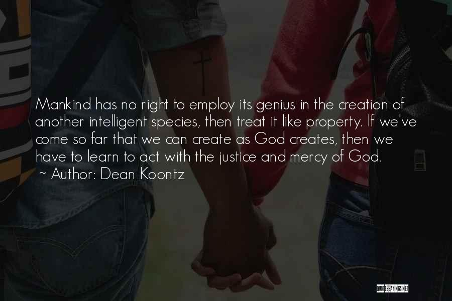 Property Quotes By Dean Koontz