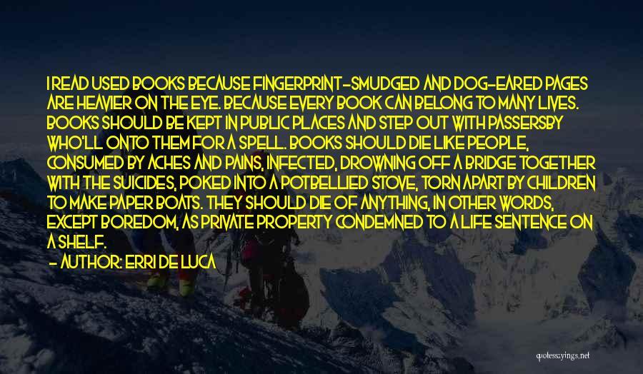 Property Quotes By Erri De Luca