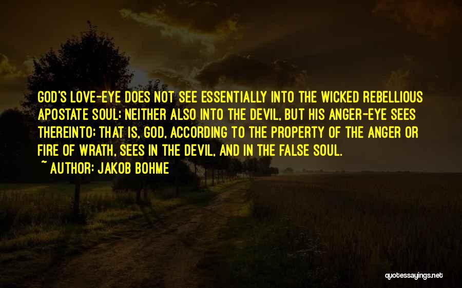 Property Quotes By Jakob Bohme