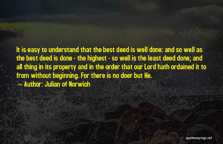 Property Quotes By Julian Of Norwich