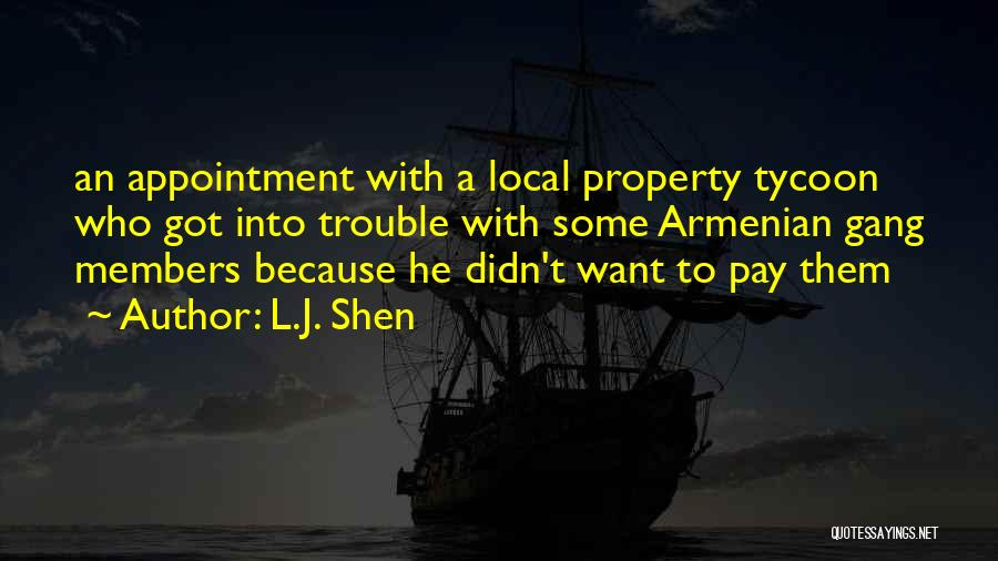 Property Quotes By L.J. Shen