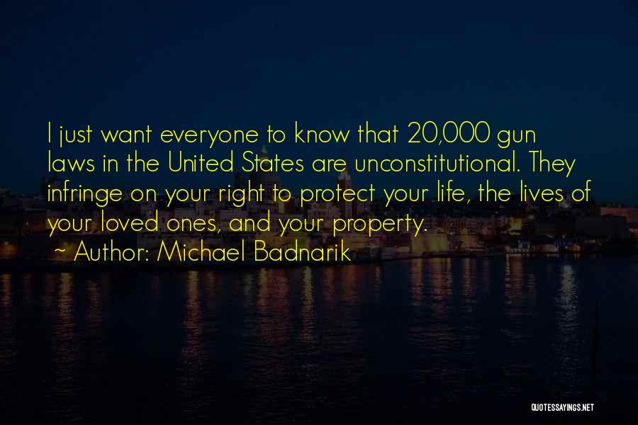 Property Quotes By Michael Badnarik