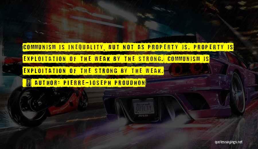 Property Quotes By Pierre-Joseph Proudhon