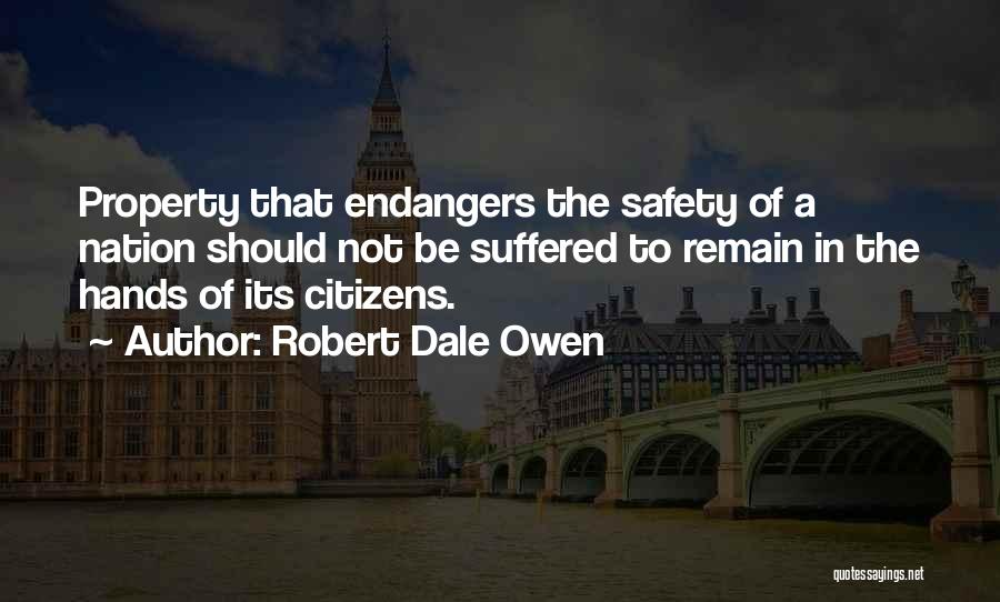 Property Quotes By Robert Dale Owen
