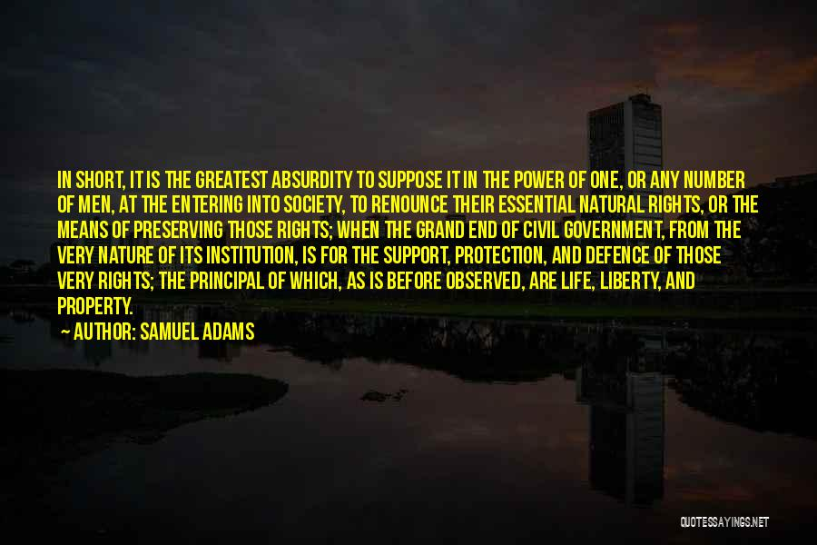 Property Quotes By Samuel Adams