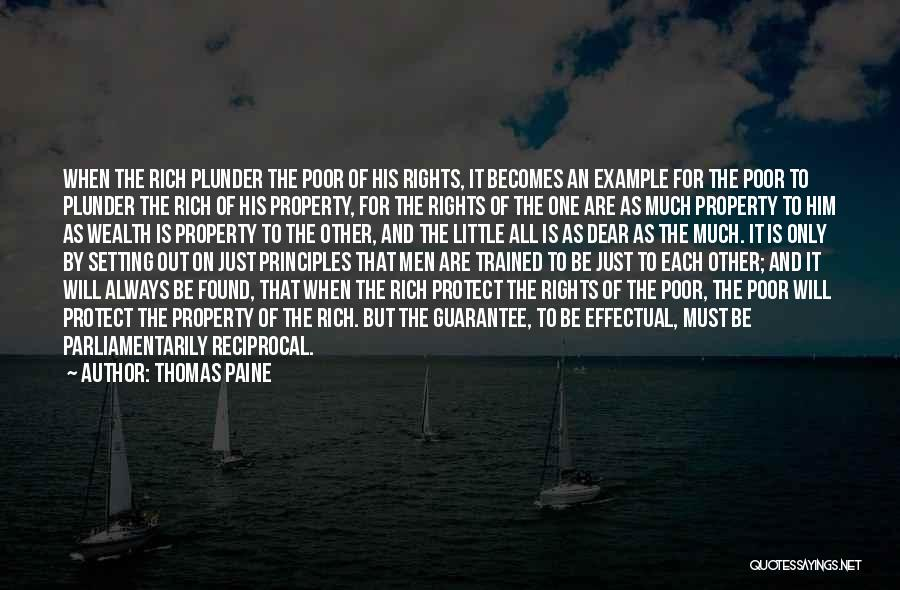 Property Quotes By Thomas Paine