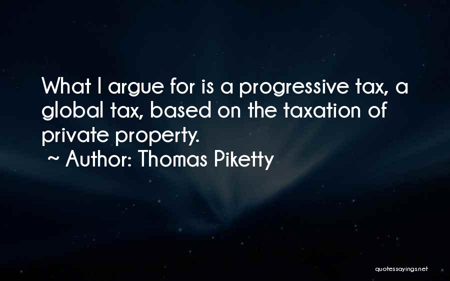 Property Quotes By Thomas Piketty