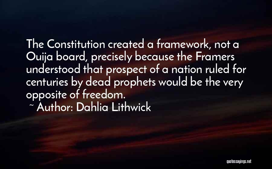 Prophets Quotes By Dahlia Lithwick