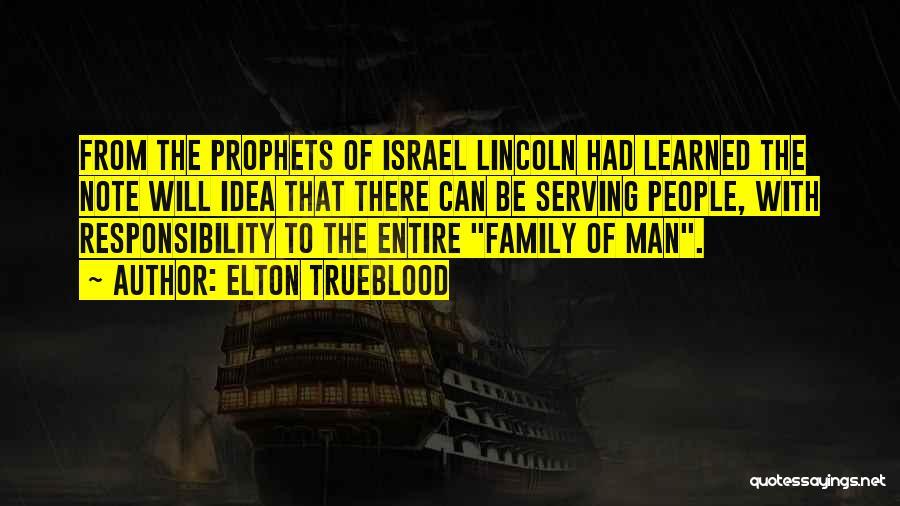 Prophets Quotes By Elton Trueblood