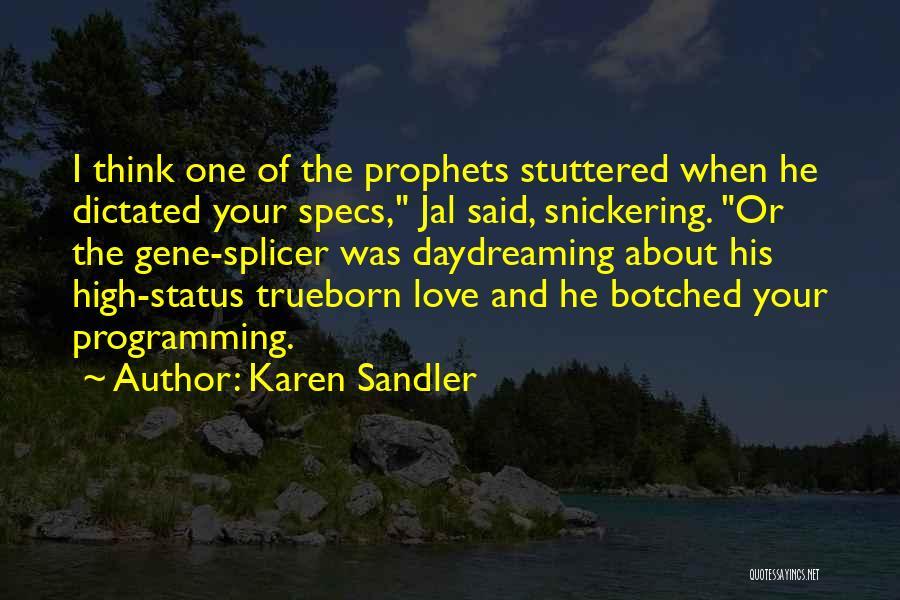 Prophets Quotes By Karen Sandler