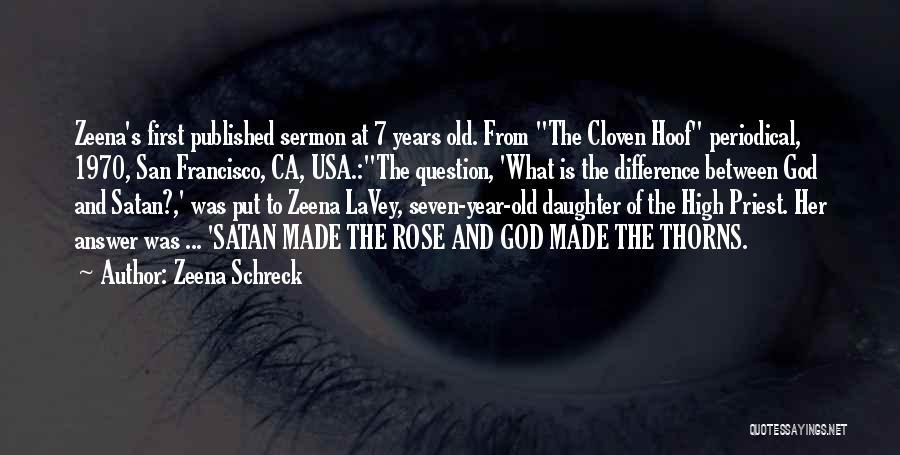 Prophets Quotes By Zeena Schreck