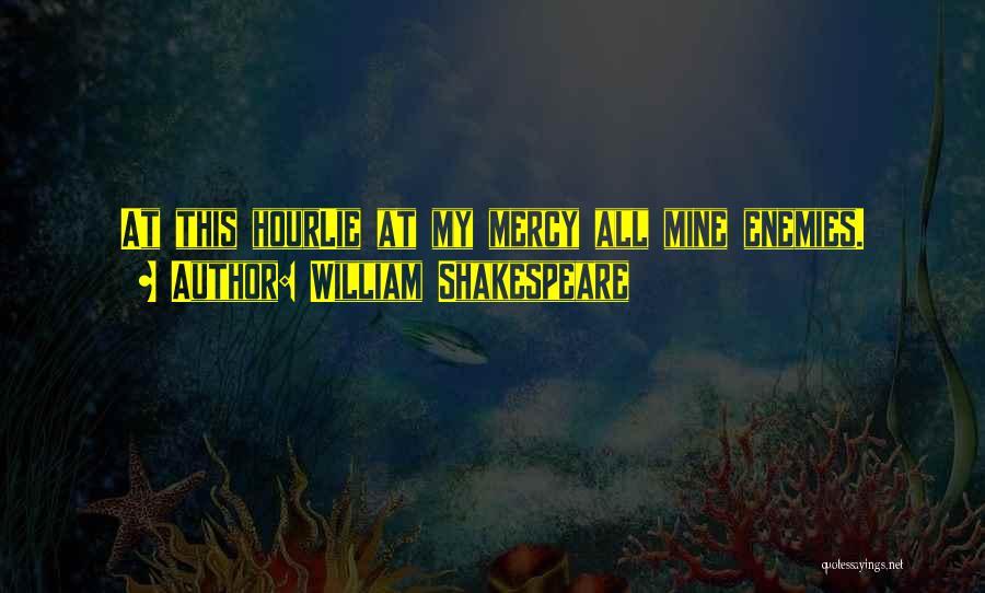 Prospero Revenge Quotes By William Shakespeare