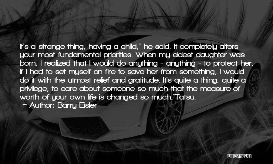 Protect Daughter Quotes By Barry Eisler
