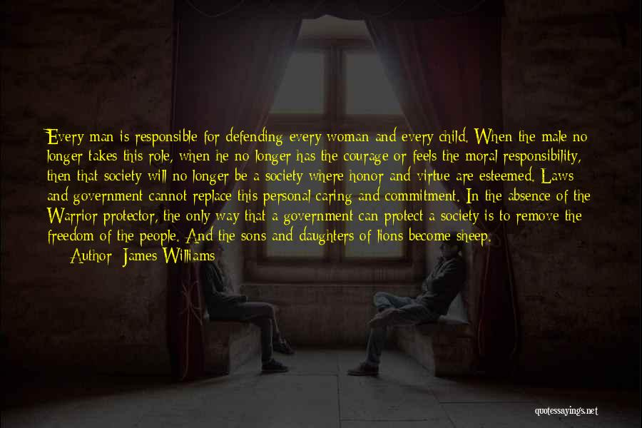 Protect Daughter Quotes By James Williams