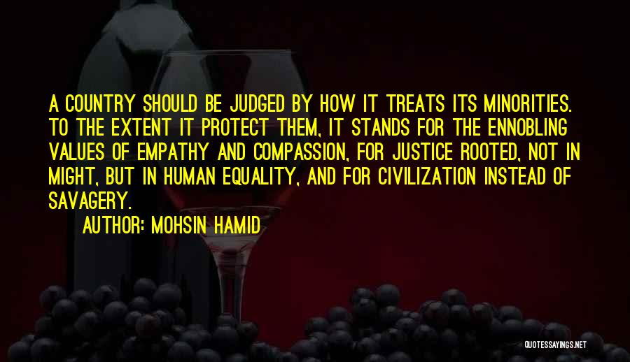 Protect Minorities Quotes By Mohsin Hamid