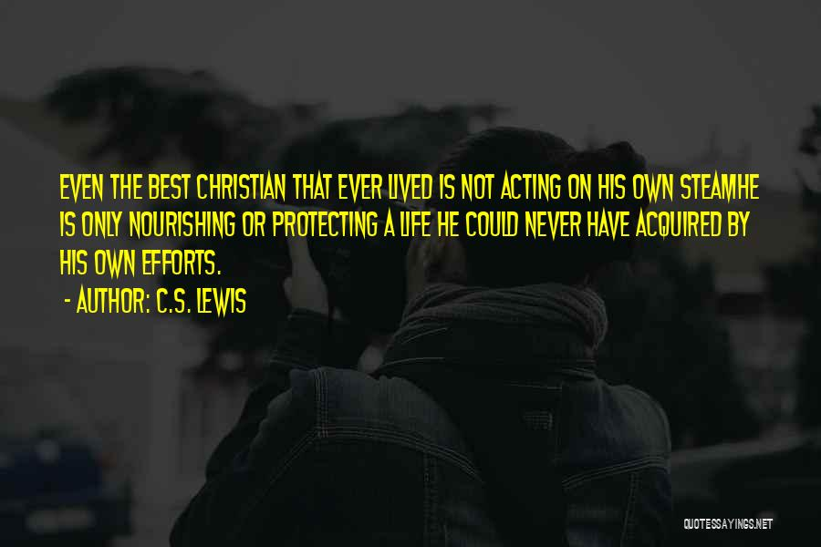 Protecting Each Other Quotes By C.S. Lewis
