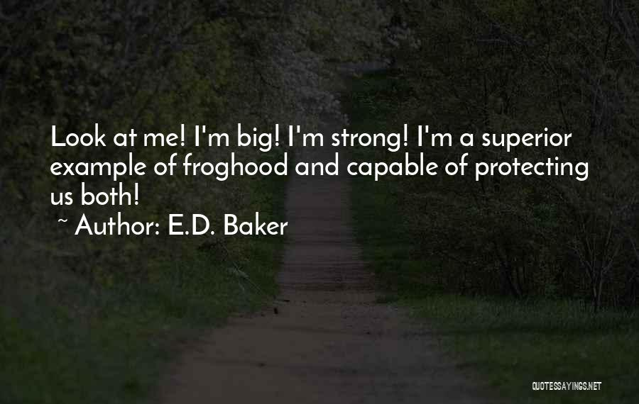 Protecting Each Other Quotes By E.D. Baker