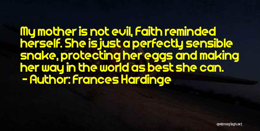 Protecting Each Other Quotes By Frances Hardinge