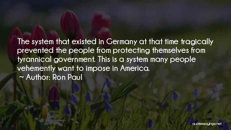 Protecting Each Other Quotes By Ron Paul