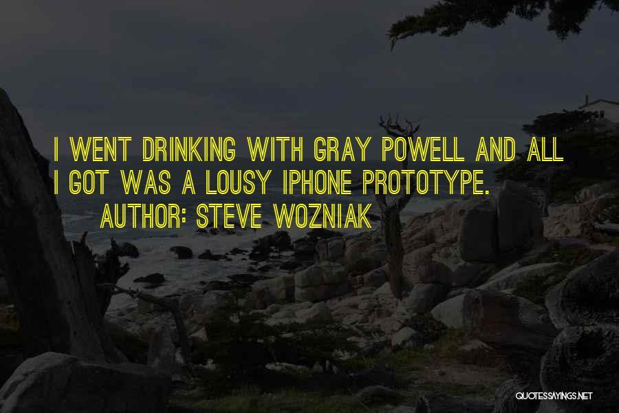 Prototype 2 Quotes By Steve Wozniak