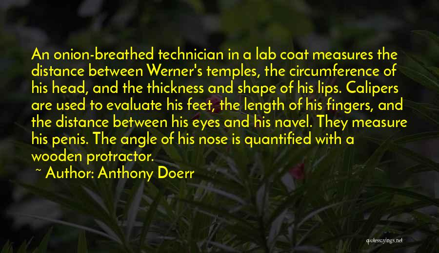 Protractor Quotes By Anthony Doerr