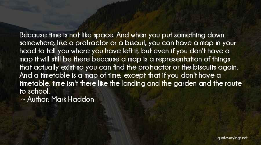 Protractor Quotes By Mark Haddon