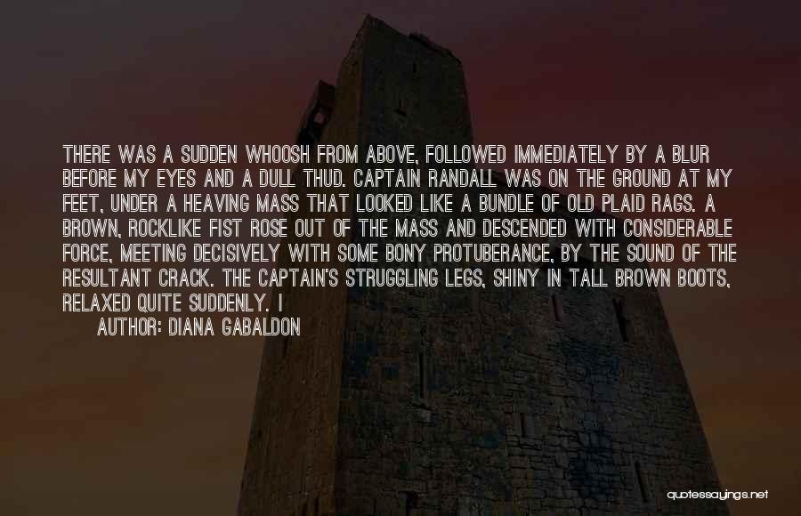 Protuberance Quotes By Diana Gabaldon