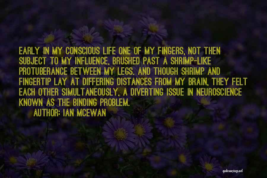 Protuberance Quotes By Ian McEwan