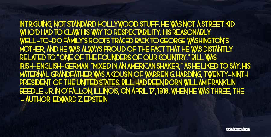 Proud Mother Of Two Quotes By Edward Z. Epstein