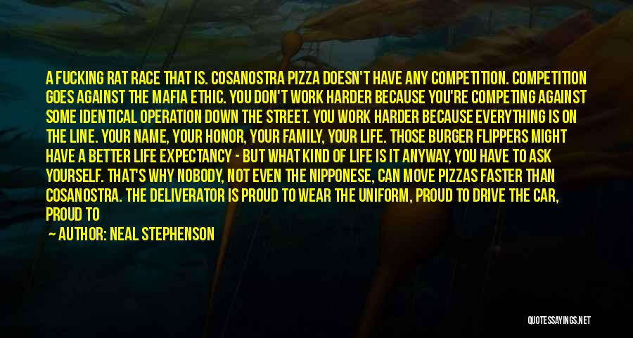 Proud Of Your Work Quotes By Neal Stephenson