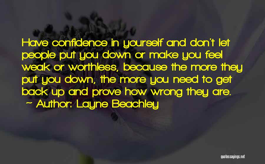 Prove U Wrong Quotes By Layne Beachley